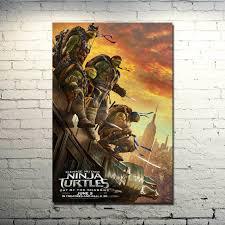 teenage mutant ninja turtles 2 shadows art silk poster