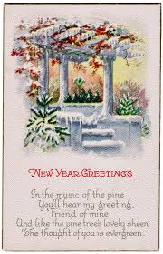 new year post card antique new year postcard knick of time