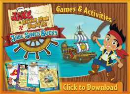 free jake u0026 neverland pirates coloring sheets u0026 activity pages