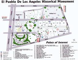 Los Angeles Downtown Map by Visit U2014 Chinese American Museum Los Angeles