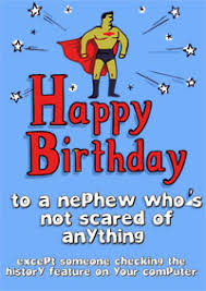 birthday cards for nephew free nephew s birthday card printable