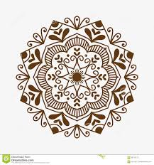 henna tattoo brown mehndi flower template doodle ornamental lace