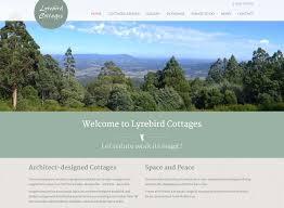 lyrebird cottage website left bank design