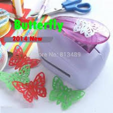 2pcs flower wave circle 2 inch foam punch craft punch for