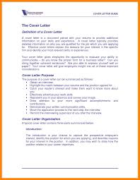 Cover Letter Definition Whats Cover Letter Whats Cover Letter 6