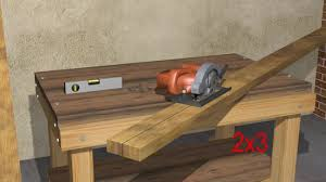 How To Build A Trestle Table How To Build A Saw Horse 14 Steps With Pictures Wikihow