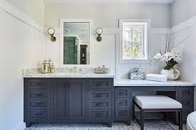 Black Bathroom Vanity With Sink by Black Sink Vanity With Boston Head Light Wall Sconces