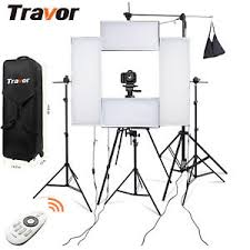 led lights for photography studio travor 4 x flex led lighting kits video headshot stand lights studio