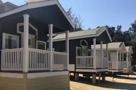 tiny homes trailer park near highland park renting them for