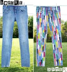 62 best painted jeans images on pinterest painted jeans casual