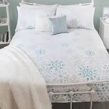Winter Duvet King Size George Home Snowflake Duvet Range Bedding Asda Direct White