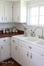 Best  Butcher Block Counters Ideas On Pinterest Butcher Block - White kitchen cabinets with butcher block countertops