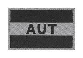 Flag Pictures Austria Flag Patch Black Identifikation Equipment Clawgear