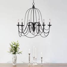 vineyard oil rubbed bronze 6 light chandelier bronze finish chandeliers for less overstock com