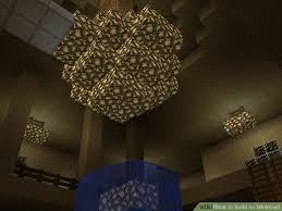 Glowstone Chandelier How To Build On Minecraft 8 Steps With Pictures Wikihow