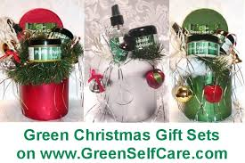 christmas gift sets green christmas gift green self care