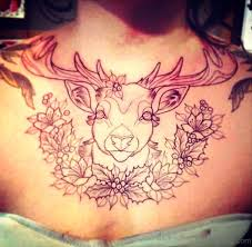 85 tremendous buck tattoos on chest
