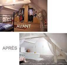 chambre sous les combles avant après notre chambre à coucher sous les combles m