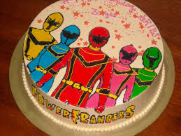 tag power rangers birthday cake sainsbury u0027s easy cake decorated