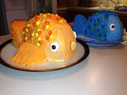 fish birthday cakes true and a future fish birthday cake