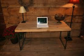 Rustic Wooden Desk Wood Desk Tops That Present Rustic And Traditional Furniture
