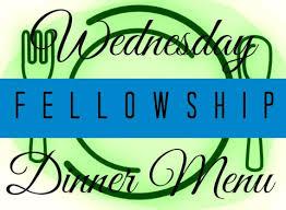 October Dinner Ideas Wednesday Night Church Dinner Wednesday Fellowship Supper Menu