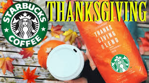 starbucks thanksgiving blend 2016 experimenting with brewing