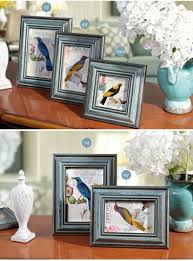 vintage photo wooden picture frames europe style home decor
