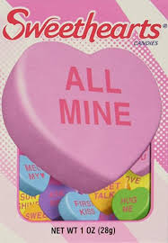 sweetheart candy sweethearts conversation hearts boxes pack of 36