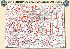 map of colorado by population where to hunt elk choosing a management unit gmu sole