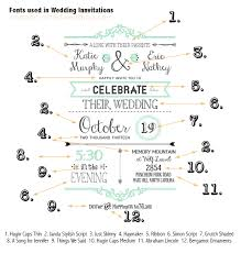 Printable Wedding Invitations Free Fonts To Use On Rustic Or Vintage Inspired Wedding Invitations