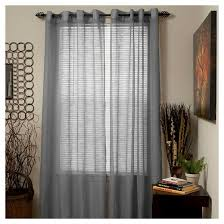 yorkshire home mia jacquard grommet curtain panel target