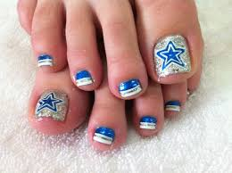best 25 dallas cowboys nails ideas on pinterest cowboy nails