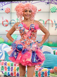Candy Costumes Halloween Katy Perry Costume Candyland Corset Tutu Dress 275 00