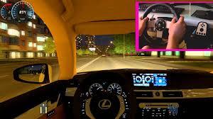 lexus racing wallpaper city car driving lexus 350 f sport g27 night ride hd1080p youtube