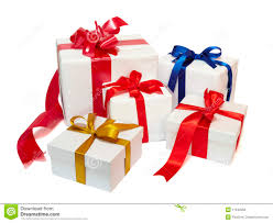 Present Decoration Ribbon Box Present Gift Decoration Stock Photo Image Of Band