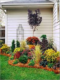 easy backyard flower garden for corner space ideas backyard flower