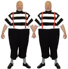Tweedle Dee Tweedle Dum Halloween Costumes Costume Hire Newcastle Tyne Fancy Dress Yell