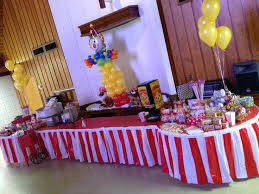 Carnival Themed Table Decorations Carnival Themed Party Concession Sweet Table Creations By Miss