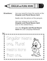 Plural Nouns Worksheets And Plural Nouns Activities Singular And Plural Nouns Worksheets