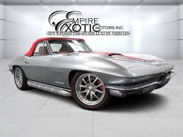 1963 corvette fuelie for sale 1963 chevrolet corvette stingray restomod furious fuelie for sale
