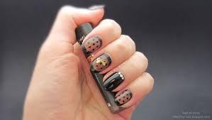 sheer black nails u2013 nails at home