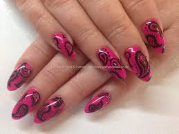 best 25 paisley nail art ideas only on pinterest fall pedicure