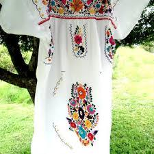 shop mexican peasant dress on wanelo