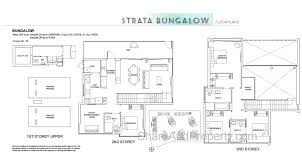 floor plan bungalow high park residences floor plan landed house strata bungalow condo