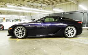 lexus supercar commercial lexus lfa black amethyst one of one cars u0026 motorcycles