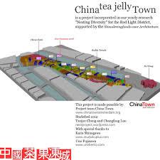 china tea jelly town studio ku maquettebouw amsterdam