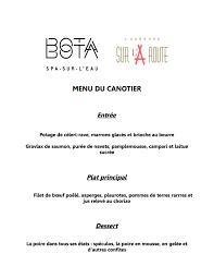 bathe u0026 bite canoer edition the porthole by bota bota spa sur l u0027eau
