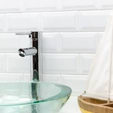 Bullnose Tile Blade 10 by Basic White 3x6 Beveled Ceramic Wall Tile Tilebar Com