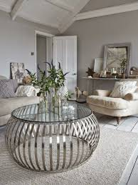 how to decorate a round coffee table for christmas beautiful round side tables for living room images